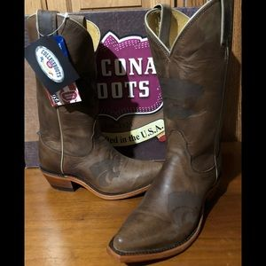Kansas State College Nocona Genuine Leather Boots